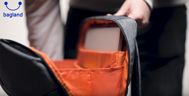 Видео обзор - рюкзак для ноутбука Square - Bagland