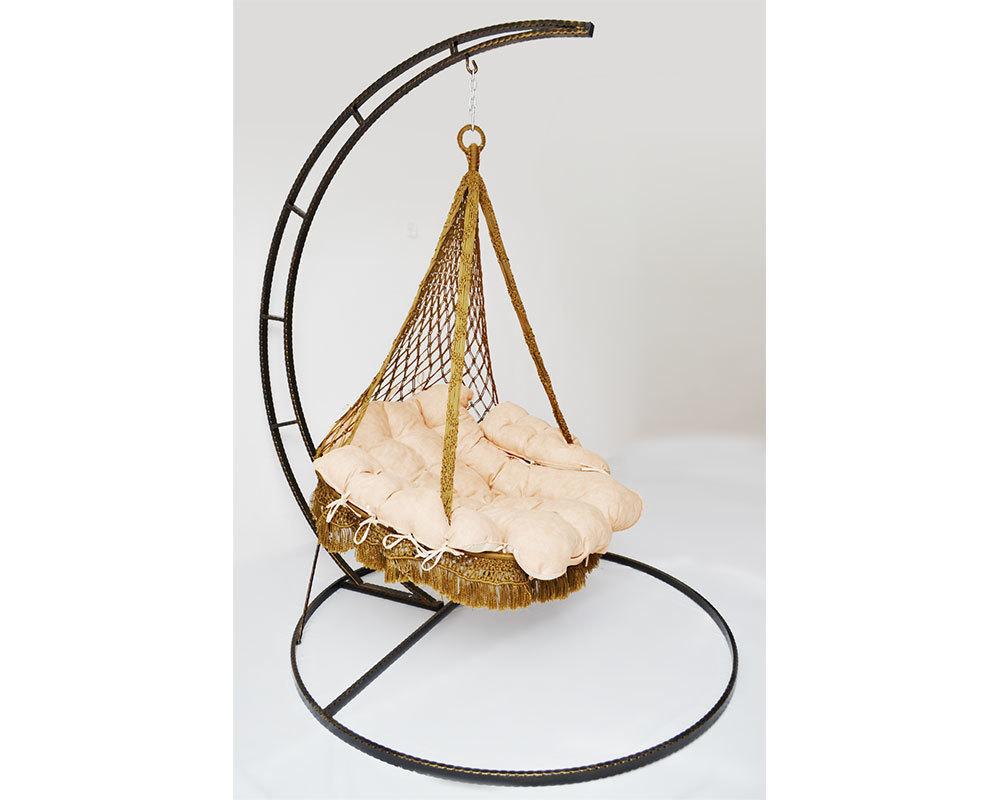 Плетеные подвесные качели – новый вид кресел гамаков!