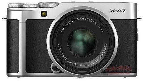Опубликованы фотографии новой камеры Fuji X-A7