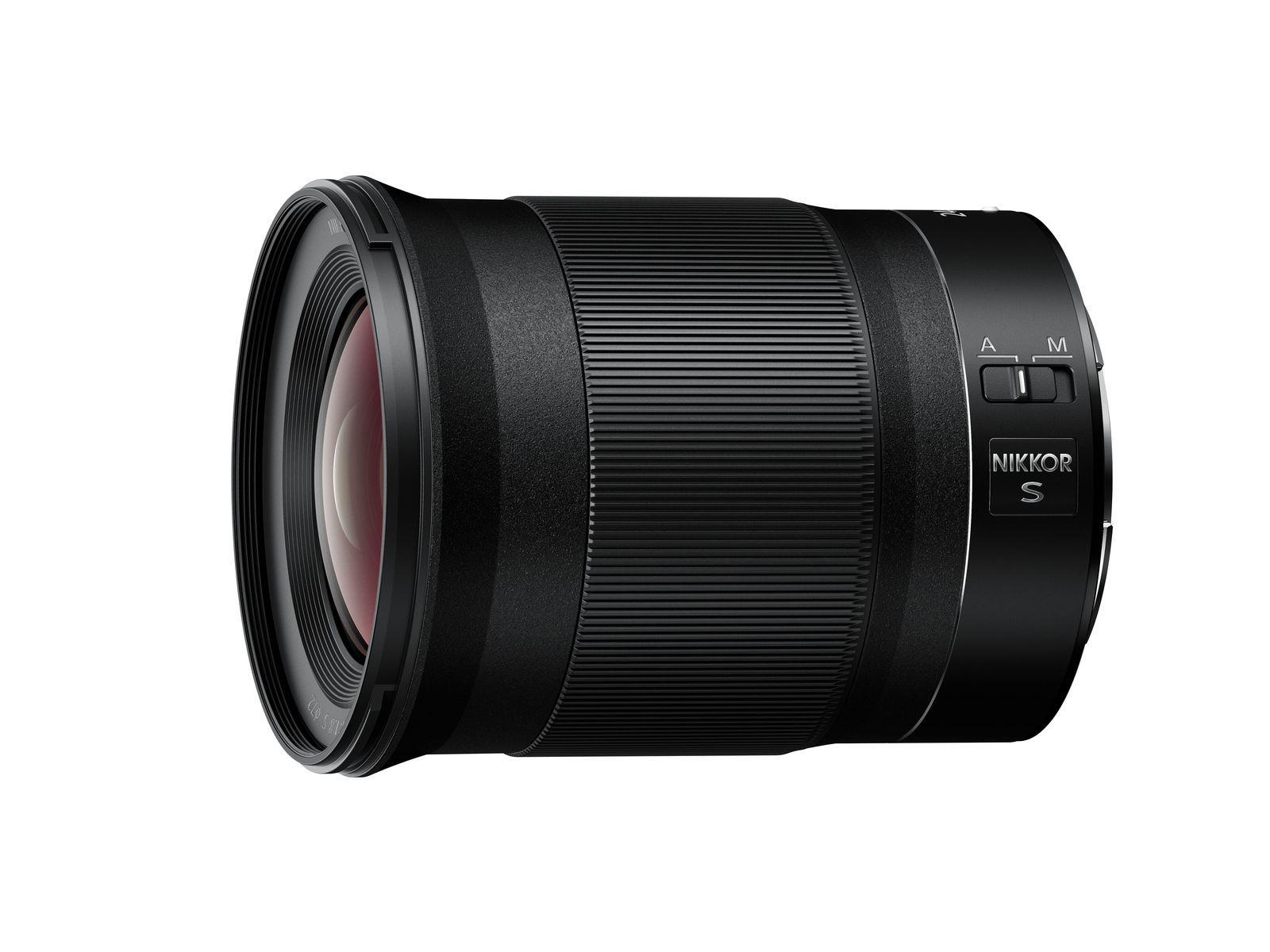 Nikon анонсировали NIKKOR Z 24mm f/1.8 S