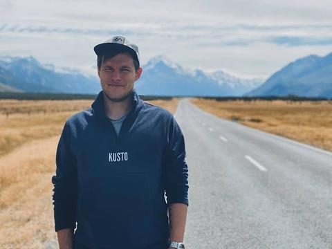 Игорь в Новой Зеландии