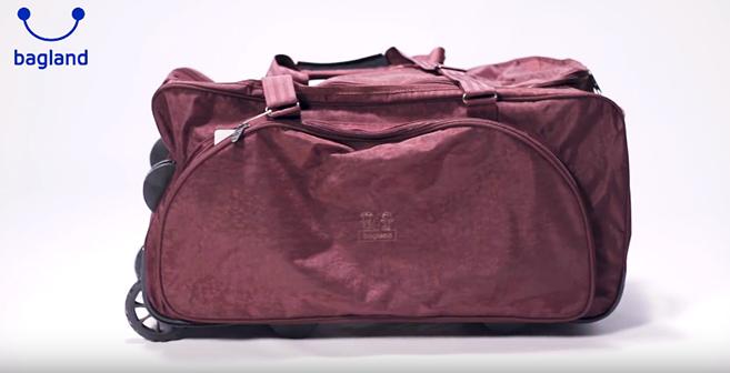 Видео обзор - сумка дорожная Таллин - Bagland