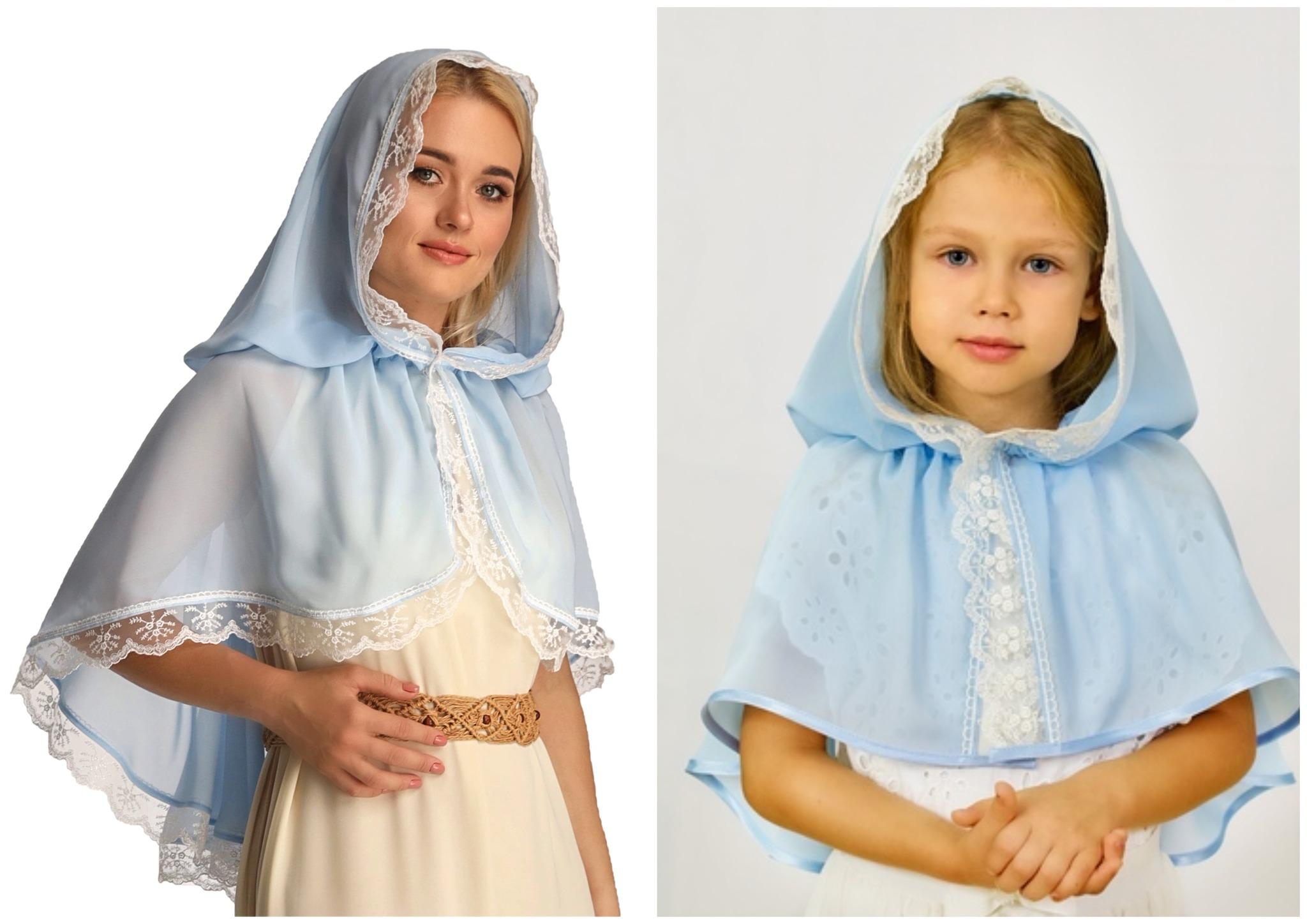 Православный платок на Благовещение Пресвятой Богородицы