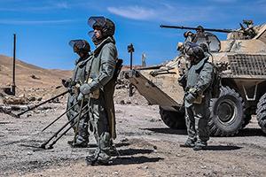«Умные» мины на защите мирного населения