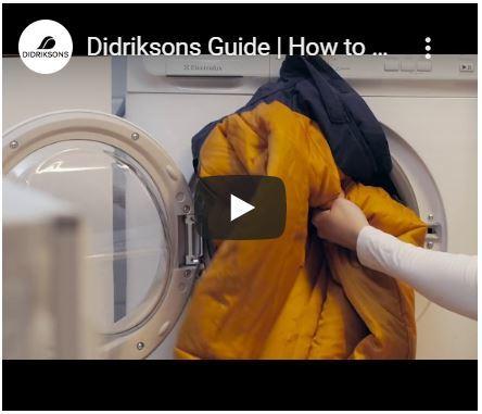 Как правильно ухаживать за одеждой DIDRIKSONS