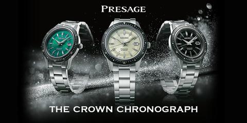Seiko Presage отдаёт дань уважения The Crown Chronograph