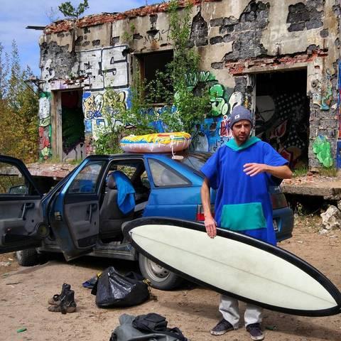 Юра и русский сёрфинг