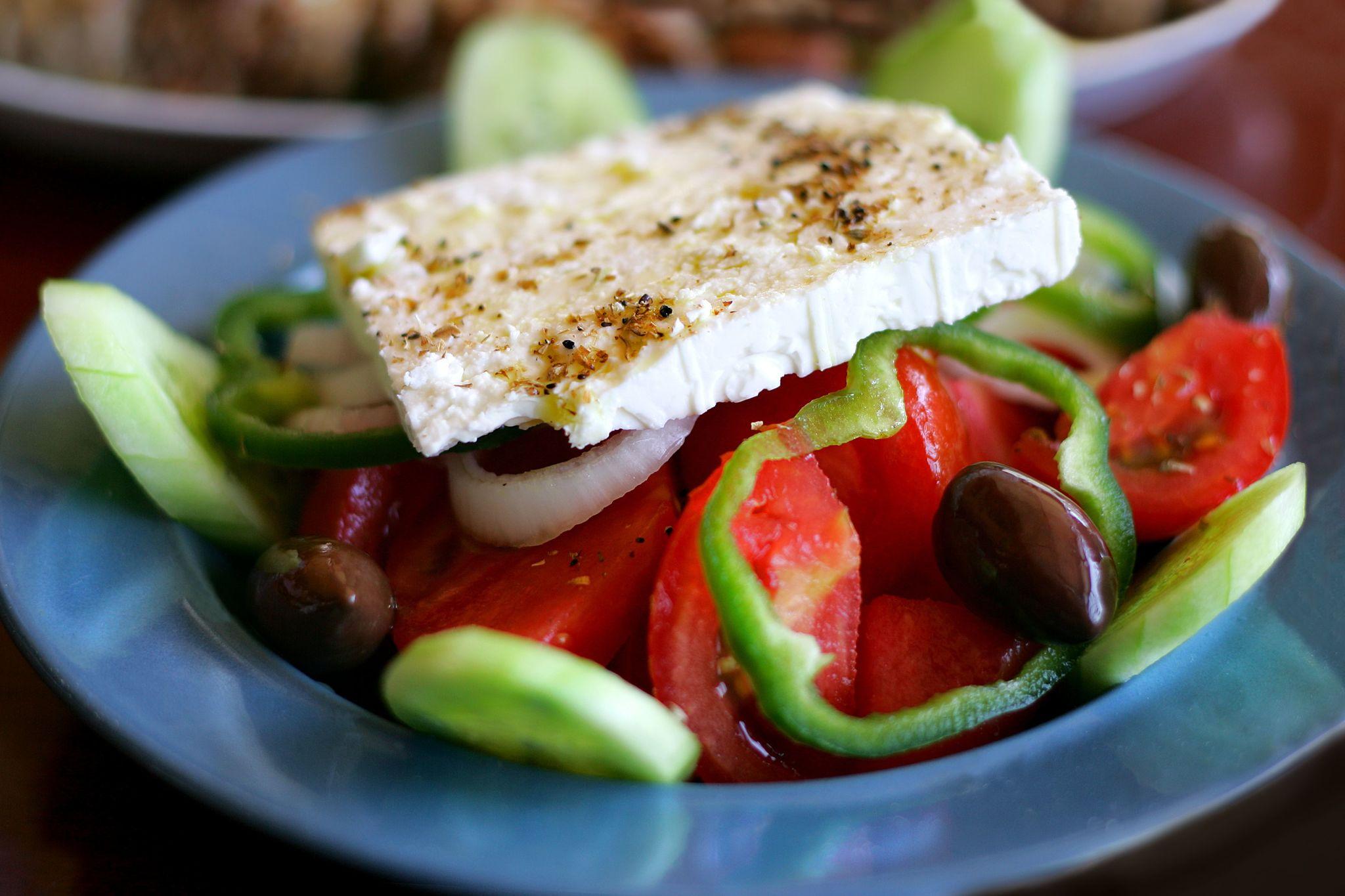 Греческий салат Х...