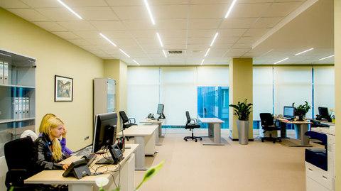 Проект освещения Офиса