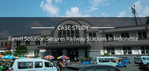 Решение Fanvil обеспечивает безопасность железнодорожных станций в Индонезии