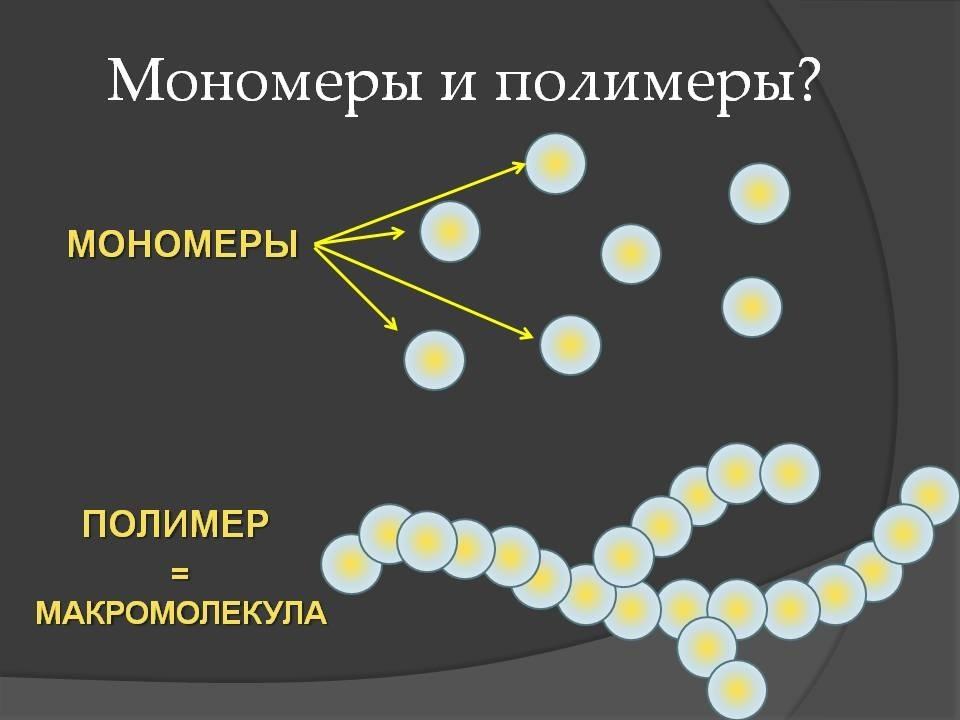 Полимер и мономер