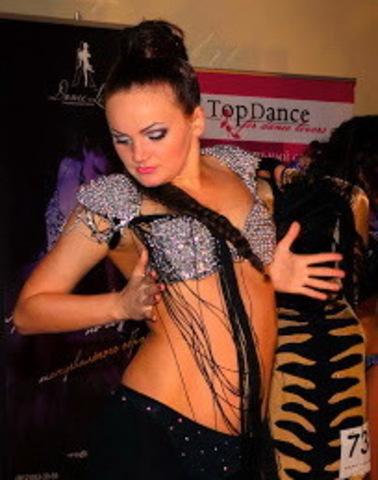 TOP DANCE в блестящем
