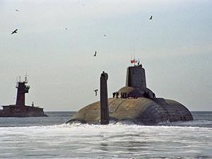 Подлодка «Дмитрий Донской» прошла испытания в Белом море