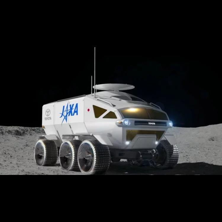 Лунный вездеход от Toyota
