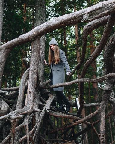 Женя в сказочном лесу