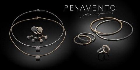 Презентация коллекций украшений PESAVENTO из золота 750 пробы.