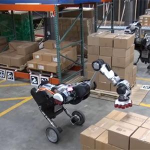 Колесный робот Handle оборудовали рукой-присоской