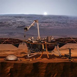 Датчик землетрясений InSight исследует Марс