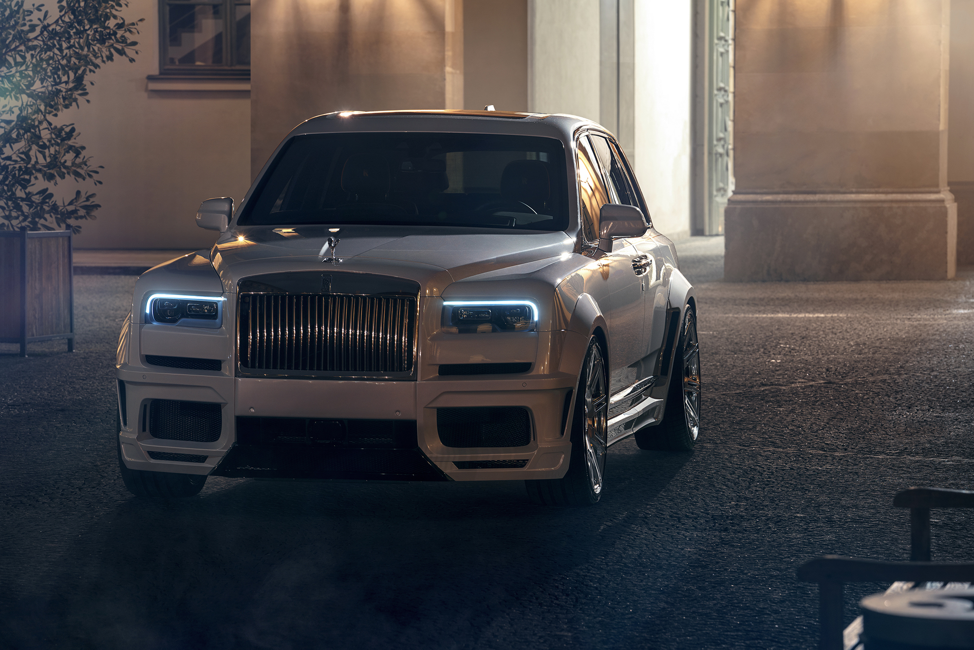 Rolls-Royce Cullinan with Spofec Overdose Body kit