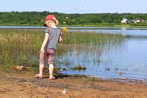Чем занять ребёнка до 3 лет? Игры с водой!