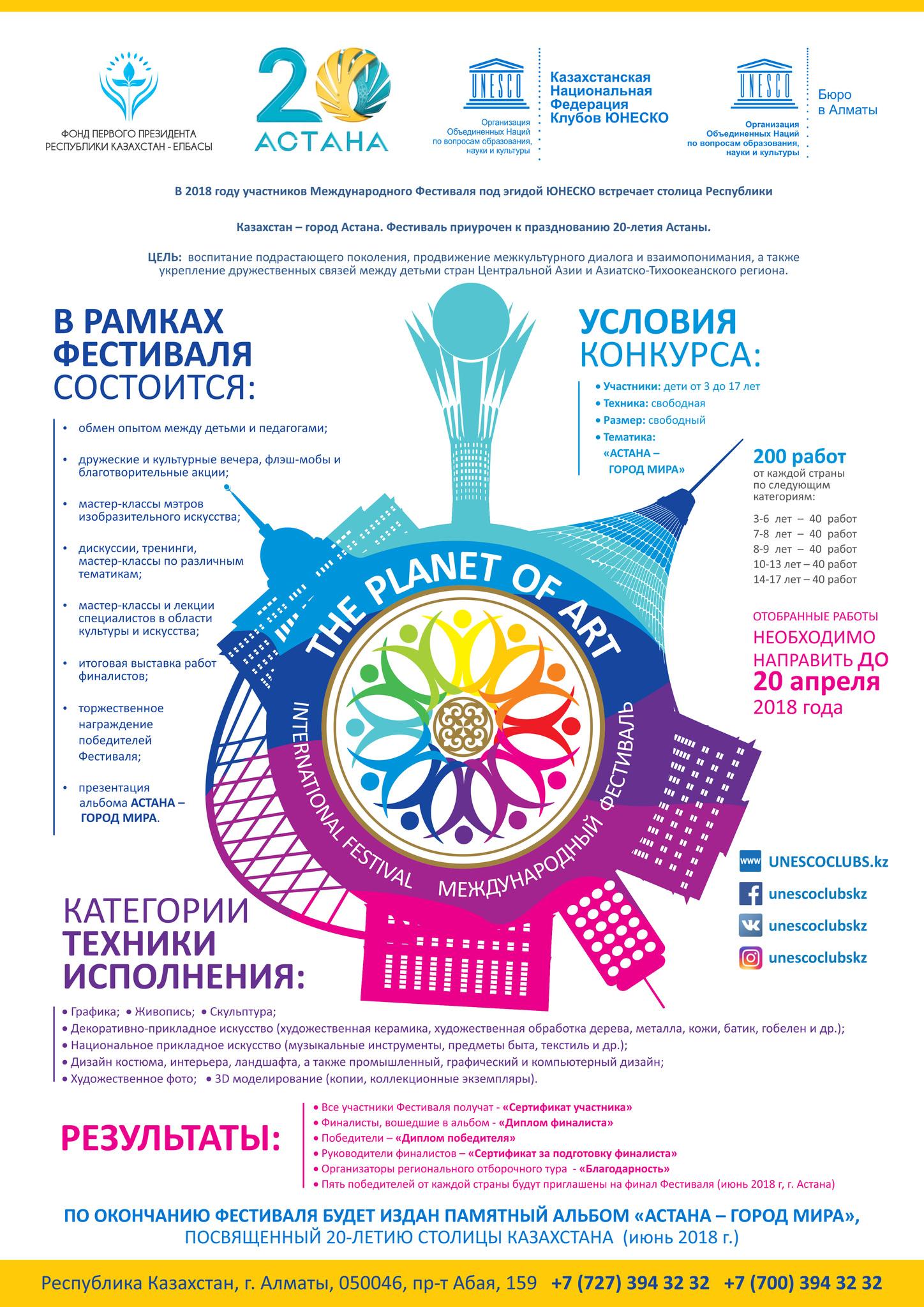 Астана - город мира
