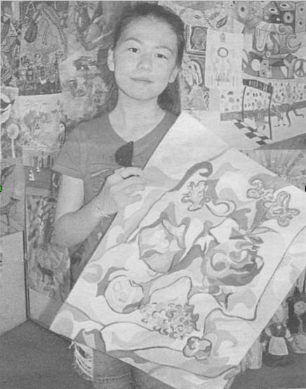 В Алматинской школе изобразительного искусства и технического дизайна им. А. Кастеева состоялась финальная выставка проекта ЮНЕСКО «Дети рисуют мир. Казахстан»