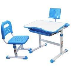 Комплект парта с подставкой для книг и стул Rifforma