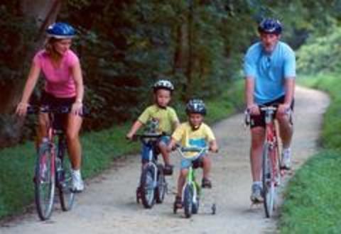 Как похудеть ребенку, катаясь на велосипеде?