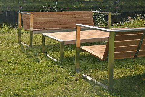 Дизайнерская уличная мебель от TRIF-MEBEL – сочетание современных форм и функциональности