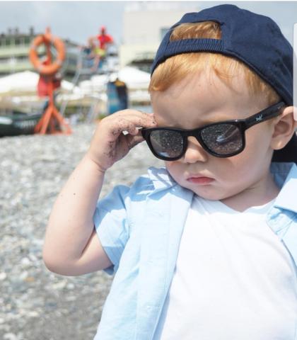 Защити детей от солнца с умными очками Real Kids