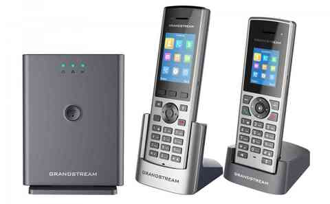 Компания Grandstream представила беспроводной IP-DECT телефон нового поколения