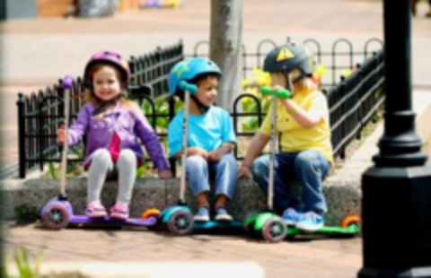 Какой самокат выбрать: Диаметр колёс для детского самоката