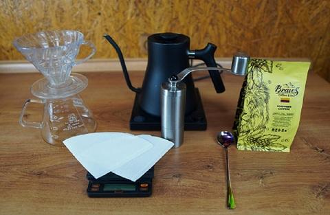 Как готовить кофе в пуровере