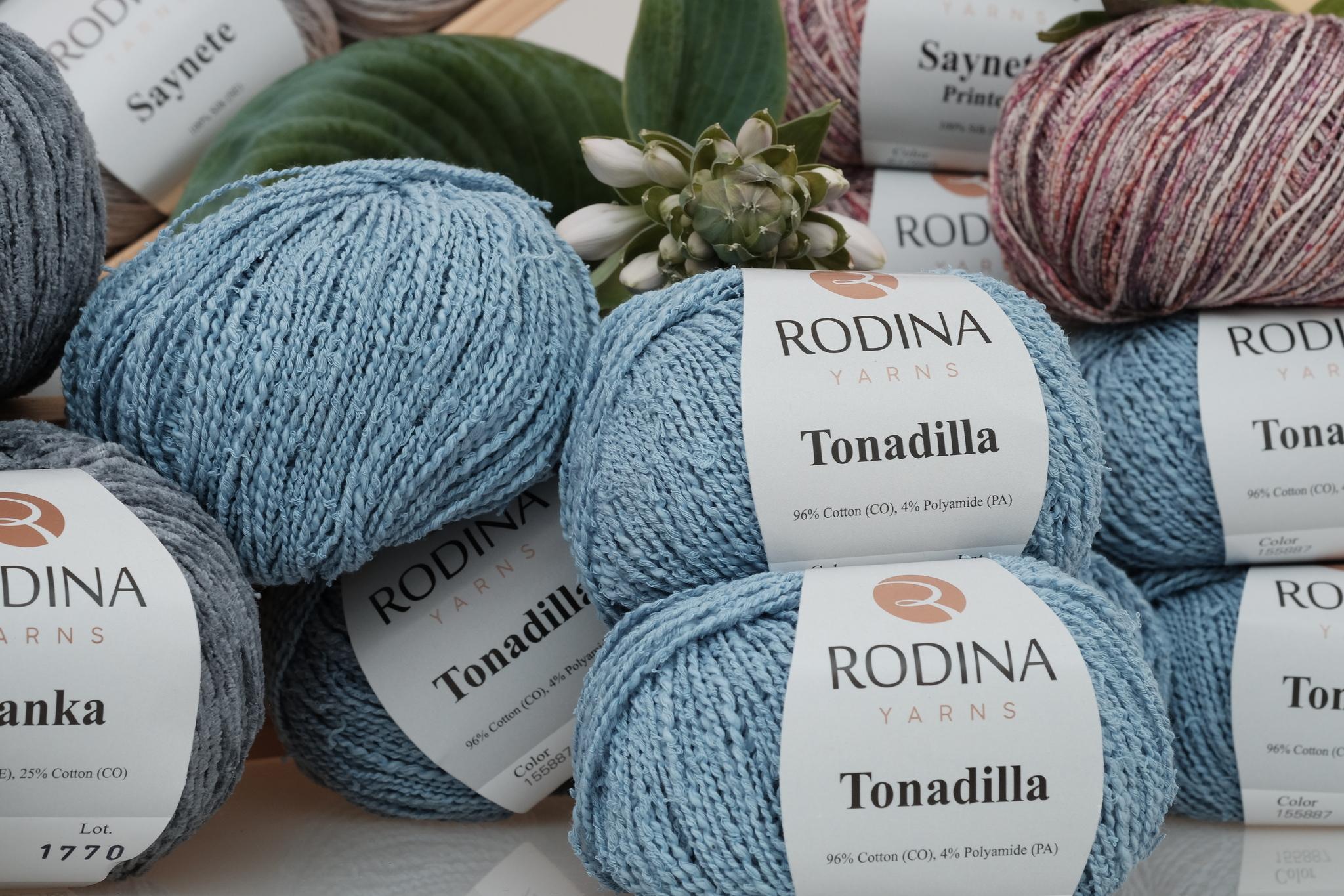 Новинки лета Rodina Yarns