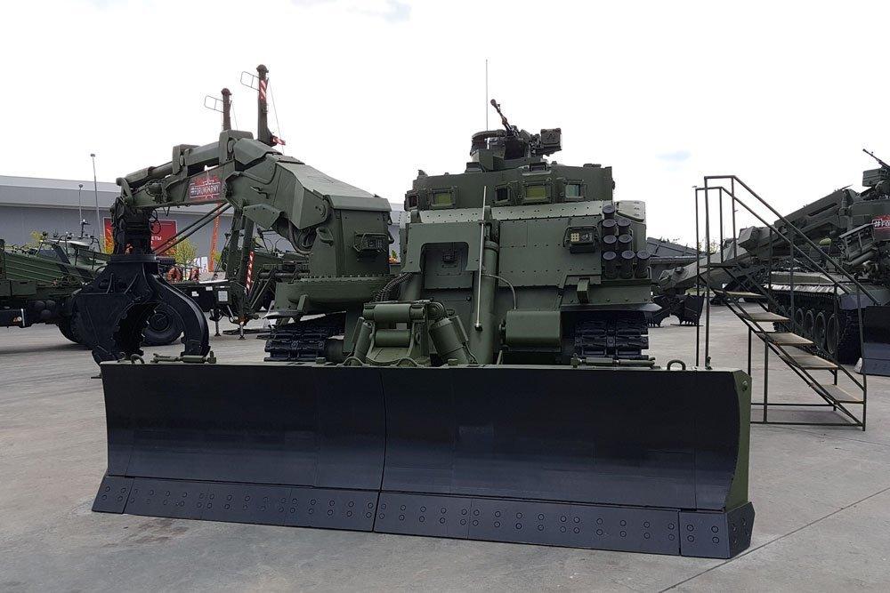 Инженерный монстр УБИМ способен к самообороне