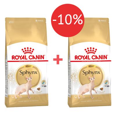 Корм для сфинксов Royal Canin 2 кг + 2 кг - 10%