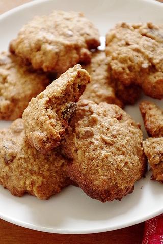 Цельнозерновое овсяное печенье