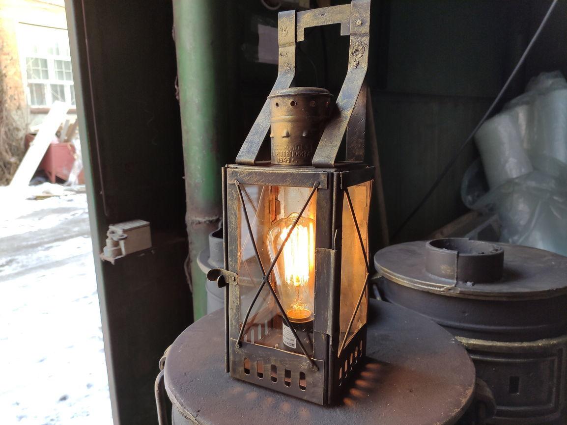 Реставрация фонаря с патроном