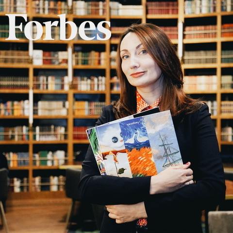 Интервью Евгении Ханоянц в Forbes Woman