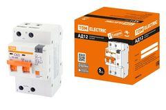 Автоматы дифференциального тока (диф.автоматы) АД12, АД14 Компакт (3 и 5 мод.)