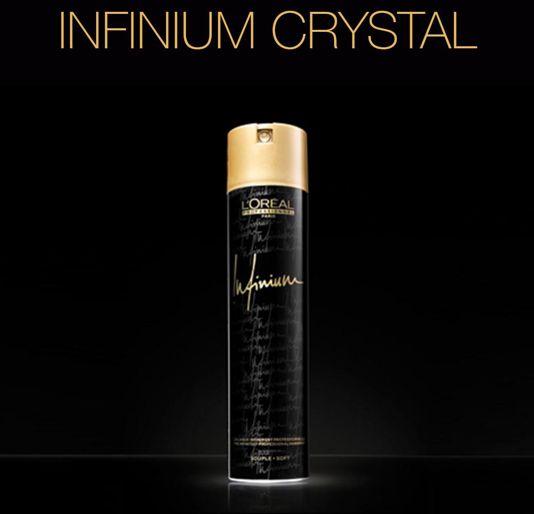 Infinium Crystal - Лаки для волос