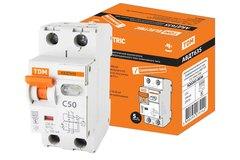 Автоматы дифференциального тока (диф.автоматы) селективные АВДТ63S