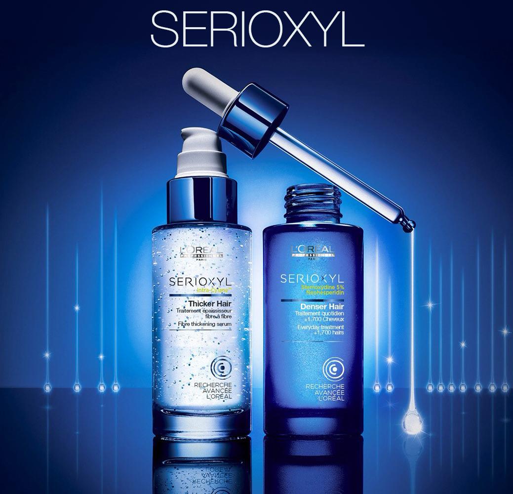 Serioxyl - Программа для уплотнения волос