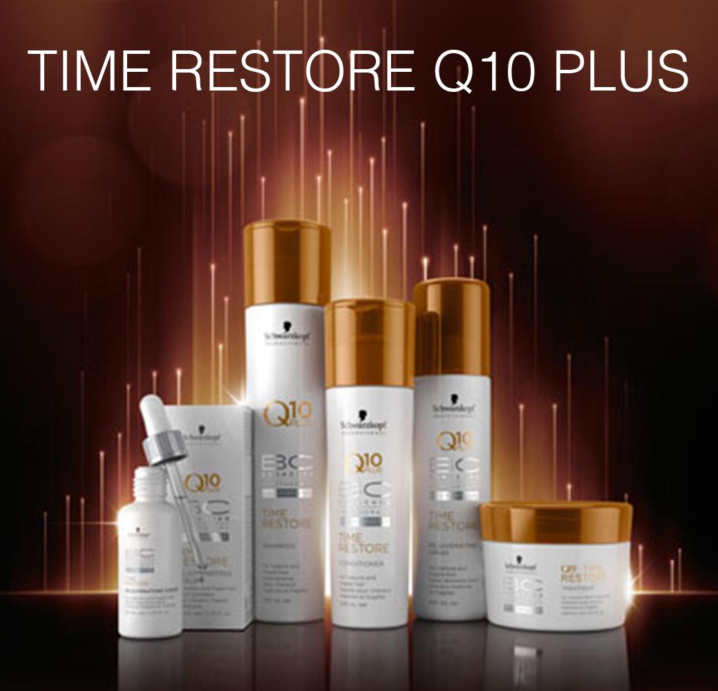 Time Restore Q10 Plus - Для ослабленных зрелых волос