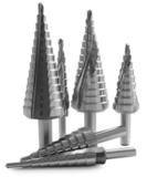 Ступенчатые сверла по металлу
