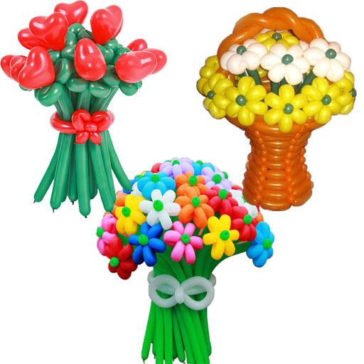 Цветы из шаров (vip)