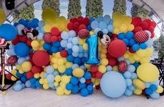 Оформления детских праздников шарами