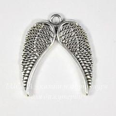 Подвески крылья и перья для браслетов, колье и серег