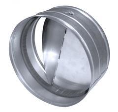 СКЦ. Соединитель с обратным клапаном металлический