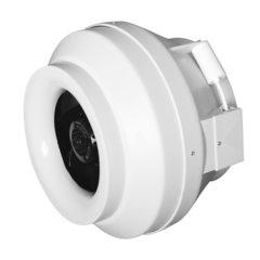Канальные круглые вентиляторы Cyclone EBM в пластиковом корпусе